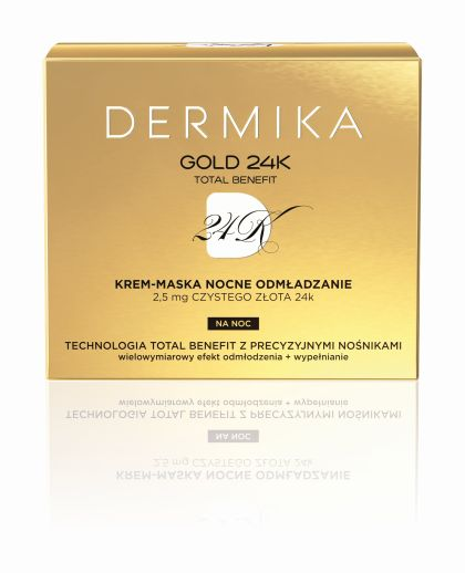 2016 GOLD24k Krem Maska NOC box
